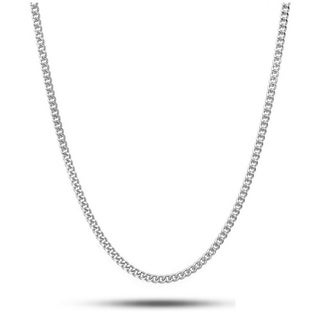 Link to Pori Jewelers 925 Sterling Silver  High Polished  2.1MM Cuban 060 Chain necklace Similar Items in Men's Jewelry