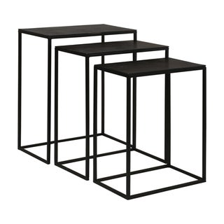 Uttermost Coreen Iron Nesting Tables (Set of 3)