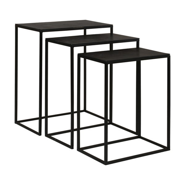 Uttermost Coreen Iron Nesting Tables (Set of 3)  sc 1 st  Overstock.com & Uttermost Coreen Iron Nesting Tables (Set of 3) - Free Shipping ...