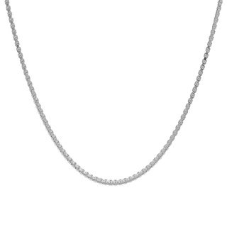 Pori Jewelers 925 Sterling Silver High Polished 0.8 MM Box 012 Chain Necklace