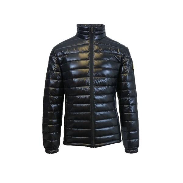 Spire by Galaxy Mens Puffer Jacket Full Zip