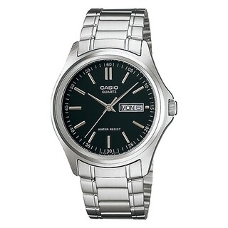 Casio Stainless Steel Mens Watch MTP1239D-1A