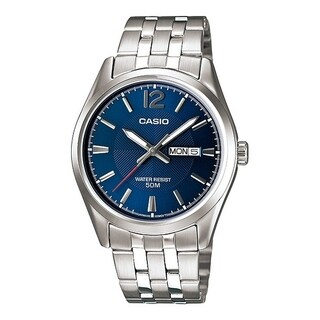 Casio Stainless Steel Mens Watch MTP1335D-2AVDF