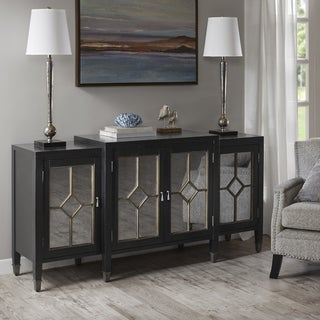 Madison Park Arbor Black Wood Transitional Buffet