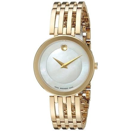 Movado Esperanza Gold-Tone Stainless Steel Ladies Watch 0607054