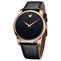Movado Museum Classic Leather Mens Watch 0607060