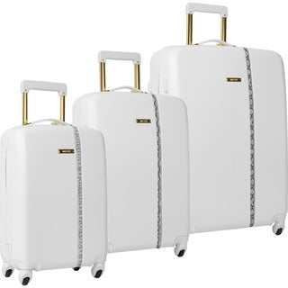 Nine West Noelle White 3-piece Hardside Spinner Luggage Set