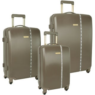 Nine West Noelle Driftwood 3-piece Hardside Spinner Luggage Set
