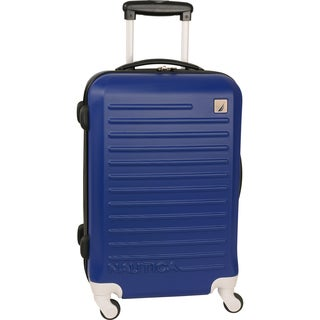 Nautica Tide Beach 25-inch Hardside Spinner Upright Suitcase