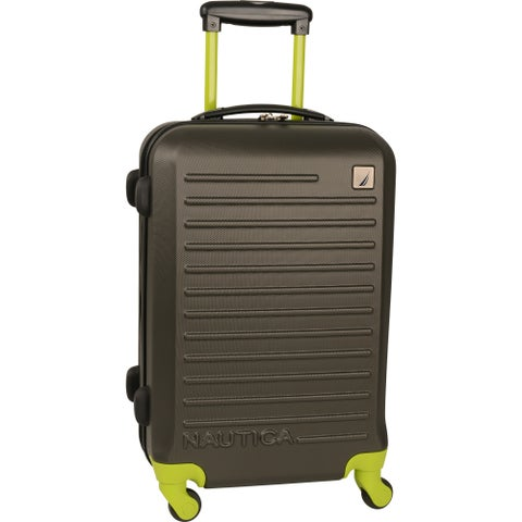 Nautica Tide Beach 21-inch Carry On Hardside Spinner Suitcase