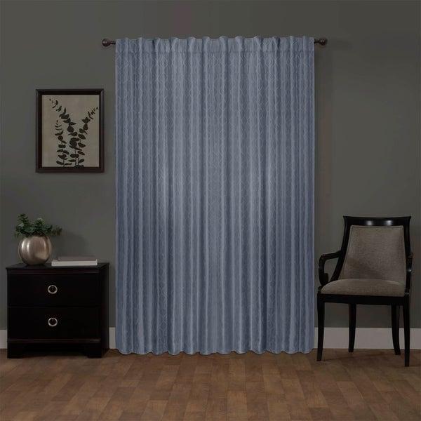 Shop Ainsley Blackout Platinum Smart Curtains Window