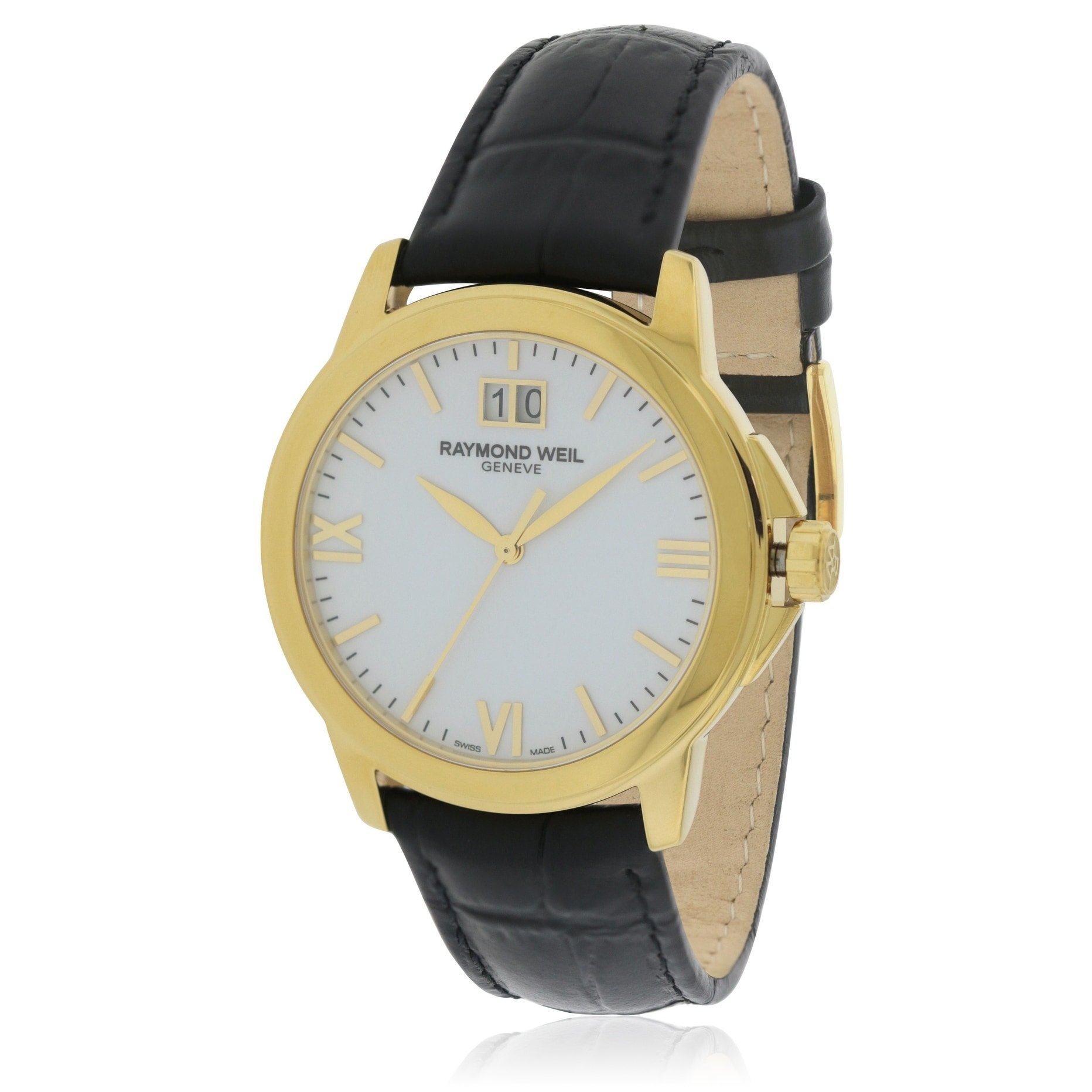 Raymond Weil Tradition Mens Watch 5476-P-00307, gold tone...