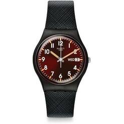 Swatch Sir Red Unisex Watch GB753