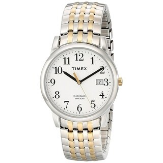 Timex Easy Reader Two-Tone Stainless Steel Unisex Watch T2P295