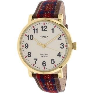 Timex Originals Leather Unisex Watch TW2P69600