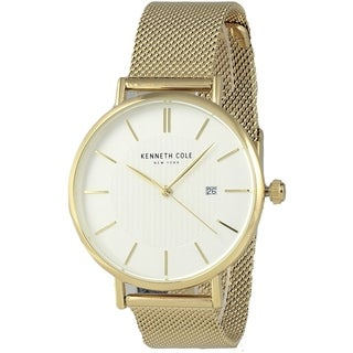 Kenneth Cole Gold-Tone Mens Watch KC50037010