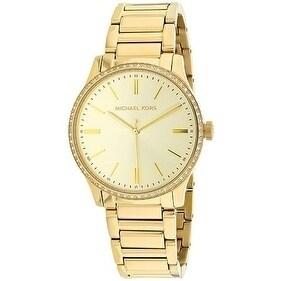 Michael Kors Bailey Gold-Tone Stainless Steel Ladies Watch
