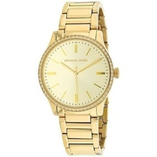 Michael Kors Bailey Gold-Tone Stainless Steel Ladies Watch MK3808