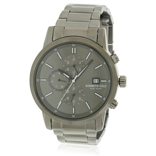 Kenneth Cole Gunmetal Chronogragh Mens Watch KCC0134003