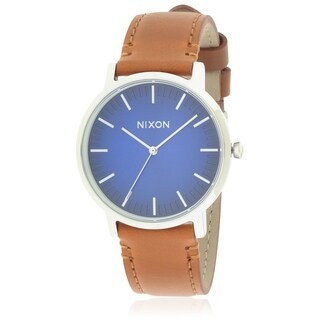 Nixon The Porter Leather Unisex Watch A10582694