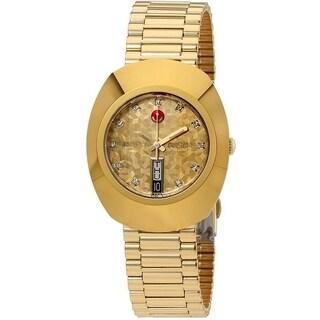 Rado Original L Automatic Gold-Tone Mens Watch R12413643