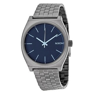 Nixon Time Teller Gunmetal Stainless Steel Mens Watch A0451427