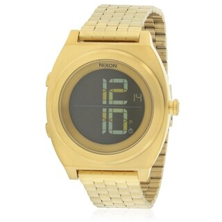 Nixon Time Teller Digital Gold-Tone Chronograph Unisex Watch A948502