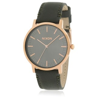Nixon The Porter Leather Unisex Watch A10582441