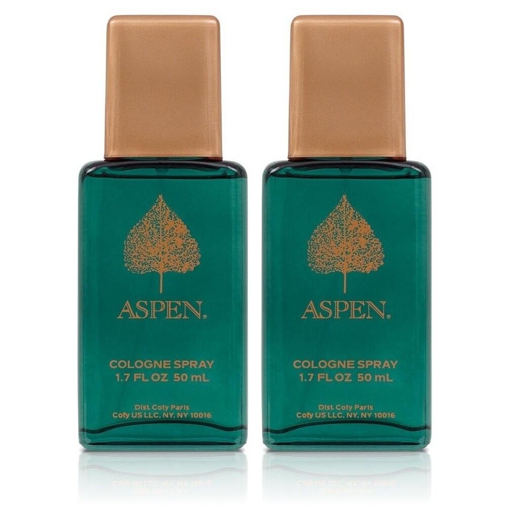 Coty Aspen Men's 1.7-ounce Cologne Spray (Pack of 2), Siz...