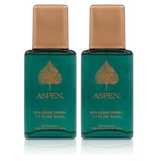 Aspen Men's 1.7-ounce Cologne Spray (Pack of 2)