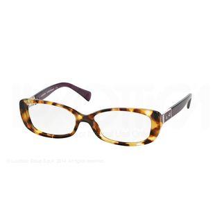 Coach HC 6063 5273 Womens Tortoise Purple Frame Eyeglasses