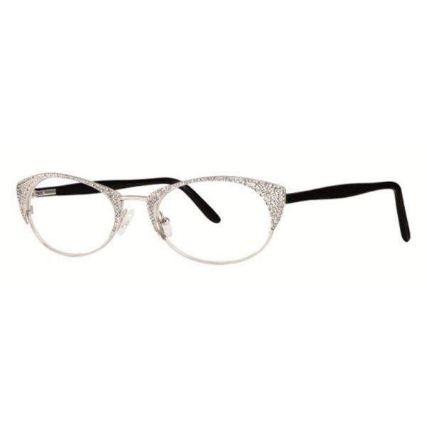 Shop Caviar Cat Eye 2357 C 35 Womens Silver/Gold w/ Clear Crystals ...