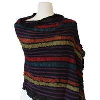 Stripe Wool Stole
