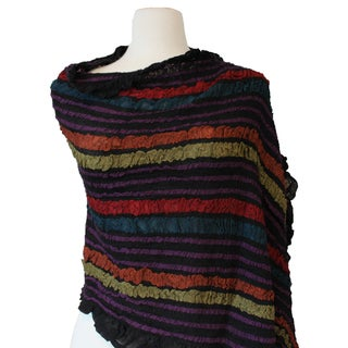 Stripe Wool Stole