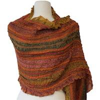 Striped Wool Stole