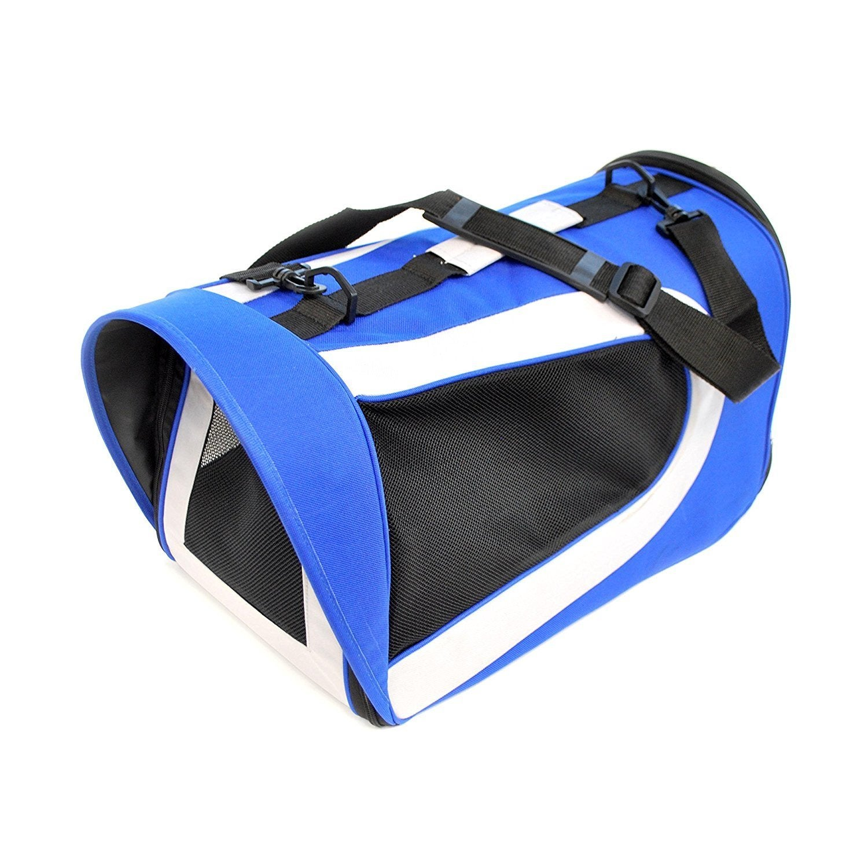 Aleko Handheld Heavy Duty Portable Pet Dog Carrier Purse ...
