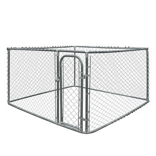Link to ALEKO DIY Box Dog Kennel Chain Link Pet System Similar Items in Dog Containment