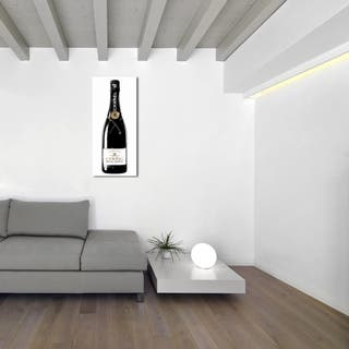 Oliver Gal 'One of A Kind Champagne Tall'Canvas Art