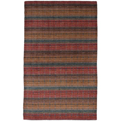 eCarpetGallery Hand-Knotted Luribaft Gabbeh Riz Wool Rug