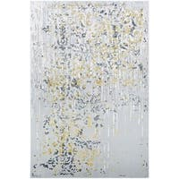 Couristan Calinda Emmett Gold-Silver-Ivory Area Rug