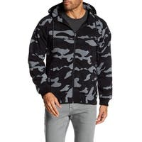 Camo Sweatshirt With Zipper Closure
