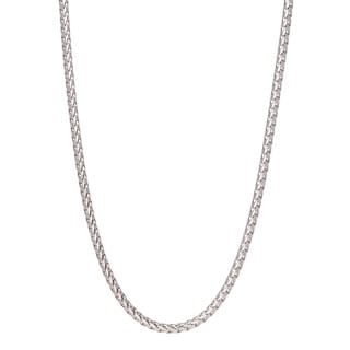 Pori Jewelers 925 Sterling Silver High Polished 3MM Franco 300 Chain Necklace