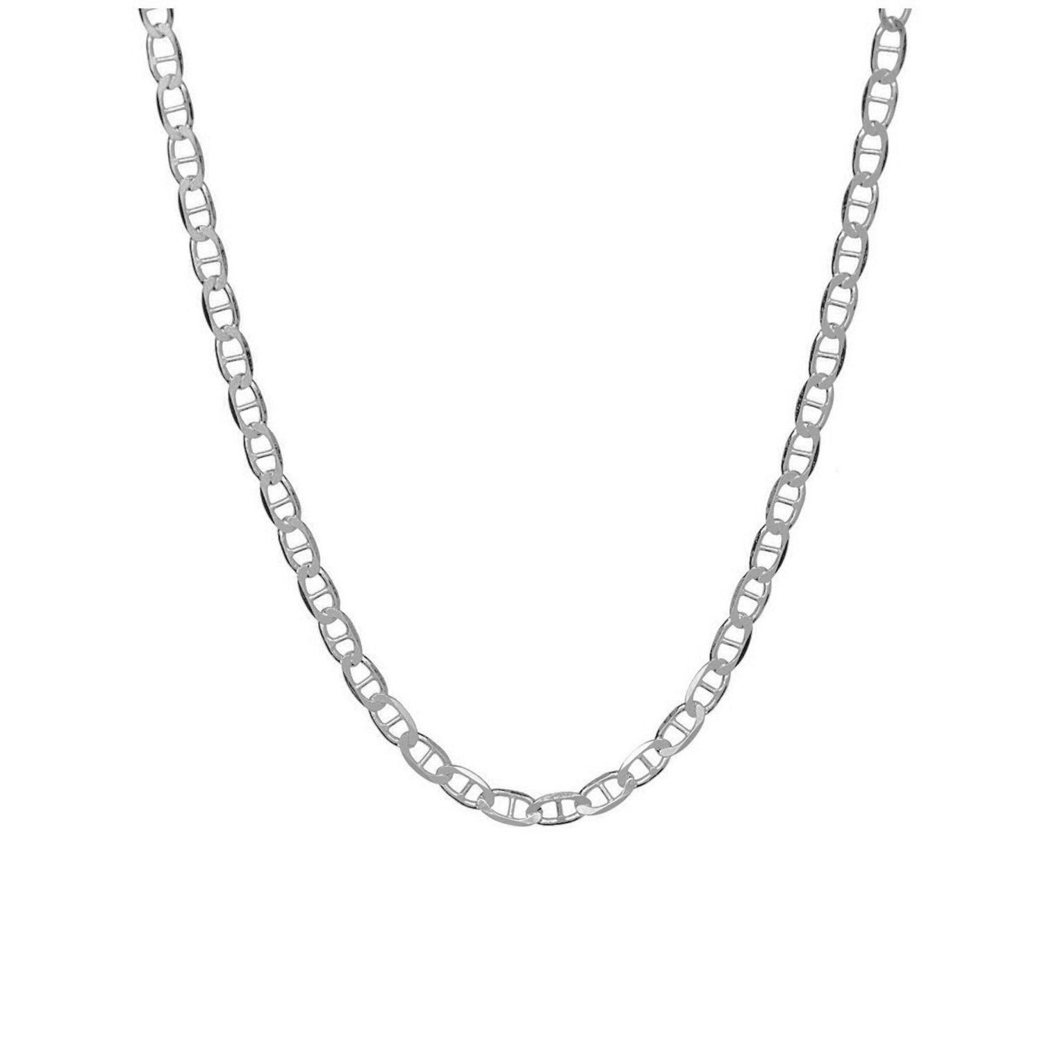 Sterling Silver Mens Unisex 1.5mm Box Chain Number One 1 Pendant Necklace