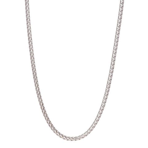 Pori Jewelers 925 Sterling Silver High Polished 4.3MM Franco 420 Chain necklace