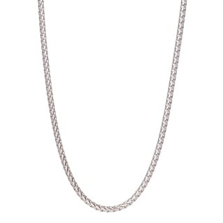 Pori Jewelers 925 Sterling Silver High Polished 5 6MM Franco 550 Chain Necklace