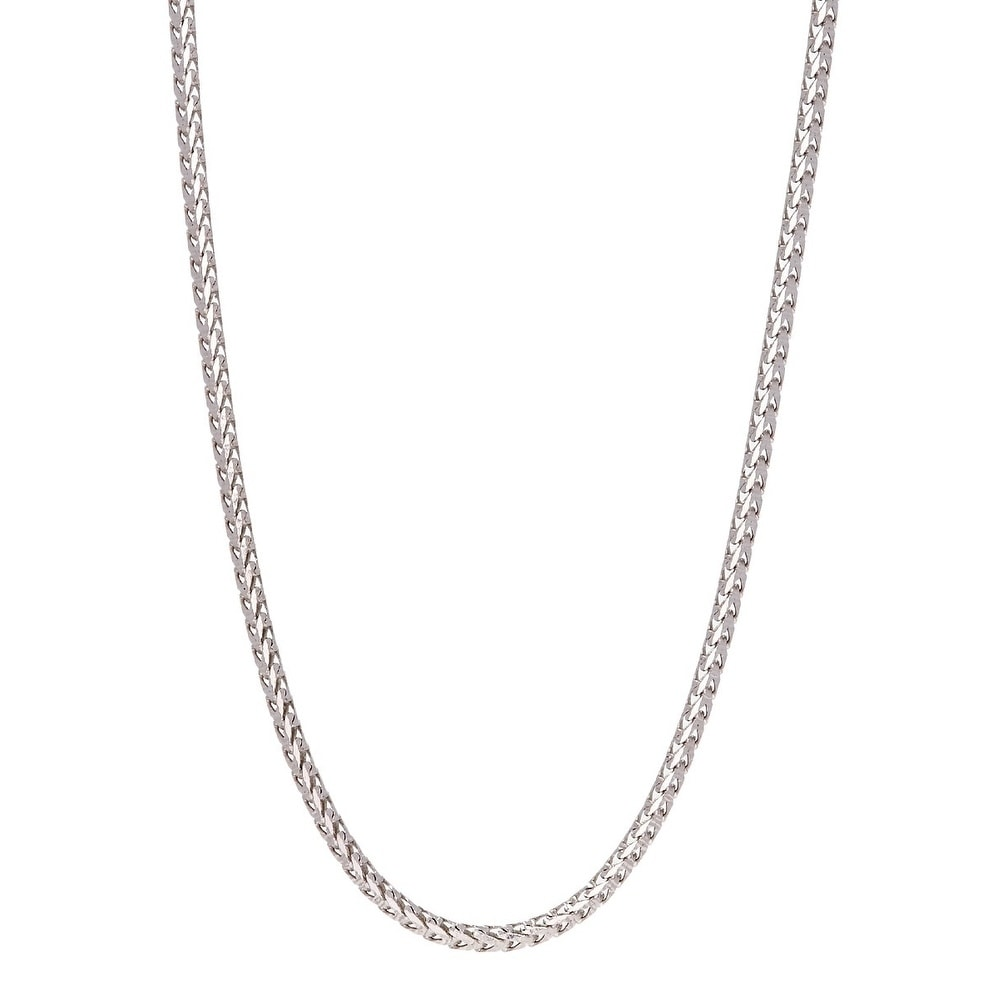 """ITALY 925 Mooncut Ball Chain Rose Gold Tone Solid Sterling Silver Necklace 28/"""""""
