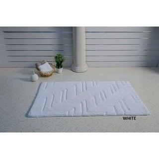 Zigzag Style Bath Rug