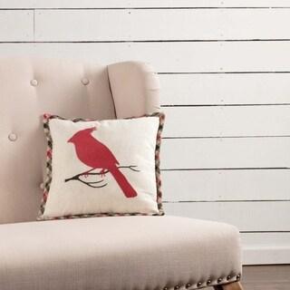 """Hollis Cardinal 12"""" x 12"""" Pillow"""
