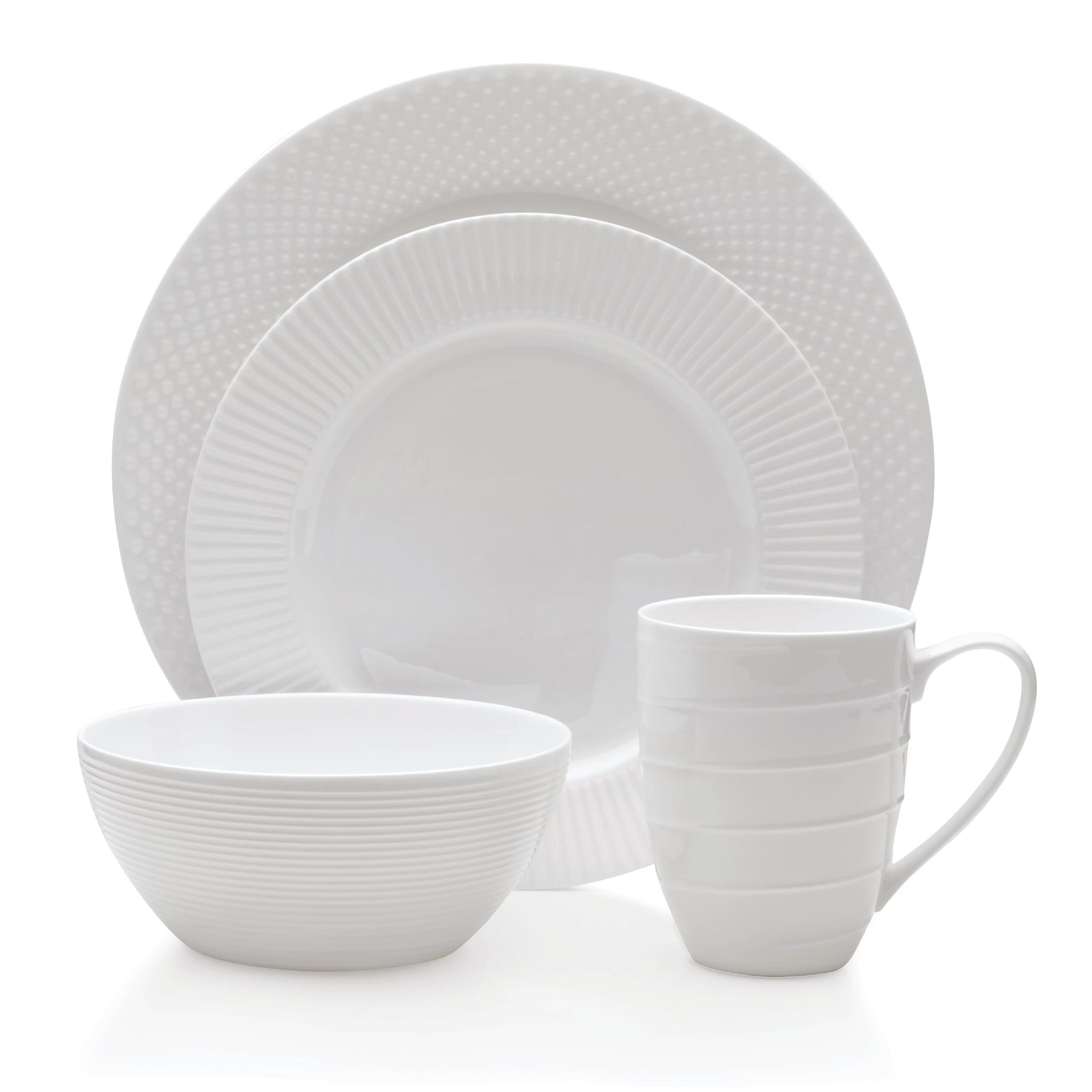 Asian Linen 16-Pc Dinnerware Set - Hairy - Fromtheinsideoutus-7408