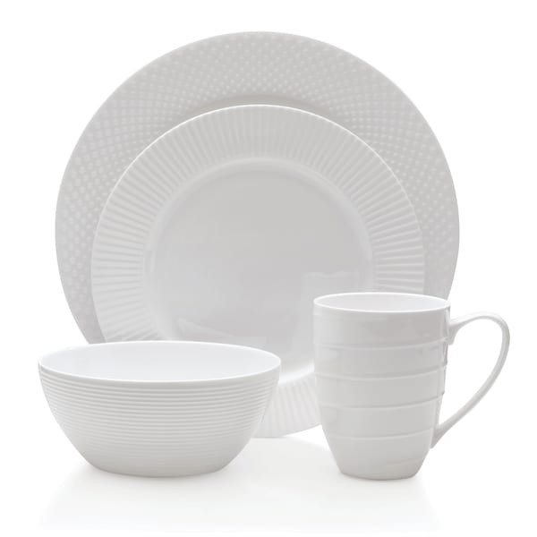 Mikasa Cheers 16 Piece Bone China Dinnerware Set - Free Shipping .  sc 1 st  tagranks.com : best bone china dinnerware - pezcame.com